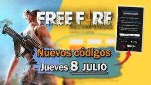 Free Fire: Códigos para hoy jueves 8 de julio de 2021 - Recompensas gratis