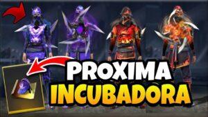 PRÓXIMA INCUBADORA DE FREE FIRE, JULIO DE 2021