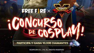 Con este nuevo evento de Cosplay, puedes ganar 10.000 diamantes gratis en Free Fire.